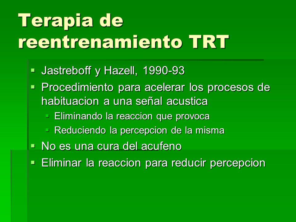 Terapia de reentrenamiento TRT