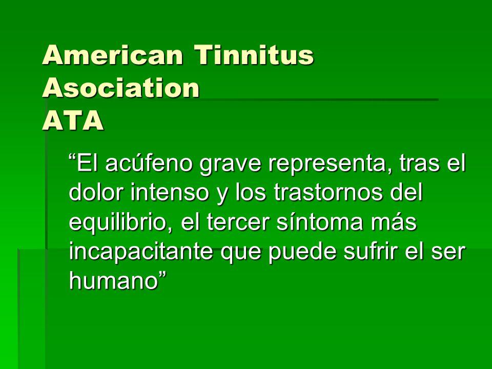 American Tinnitus Asociation ATA