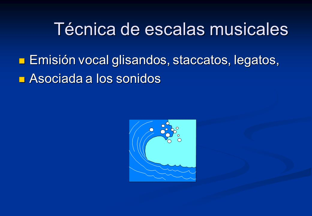 Técnica de escalas musicales