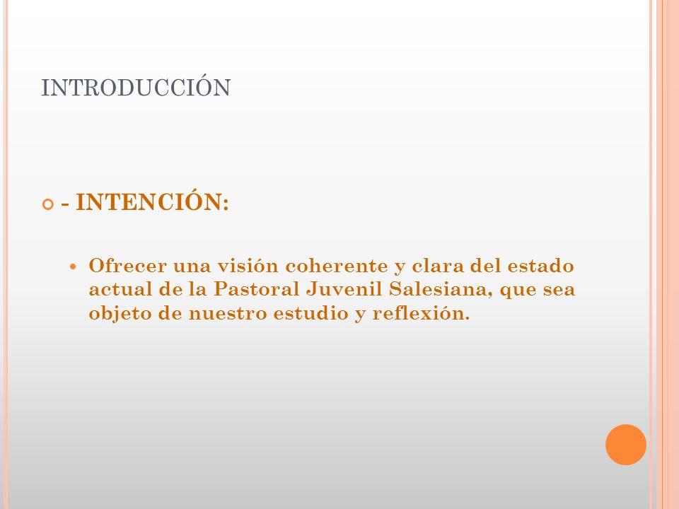 introducción - INTENCIÓN: