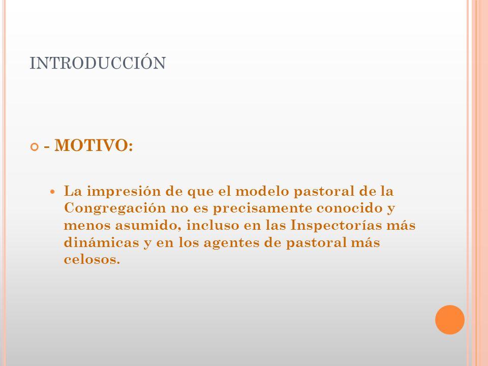 introducción - MOTIVO: