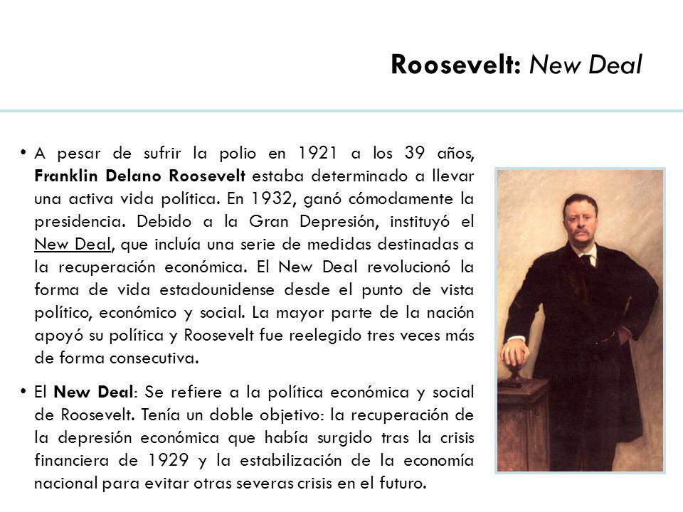 Roosevelt: New Deal