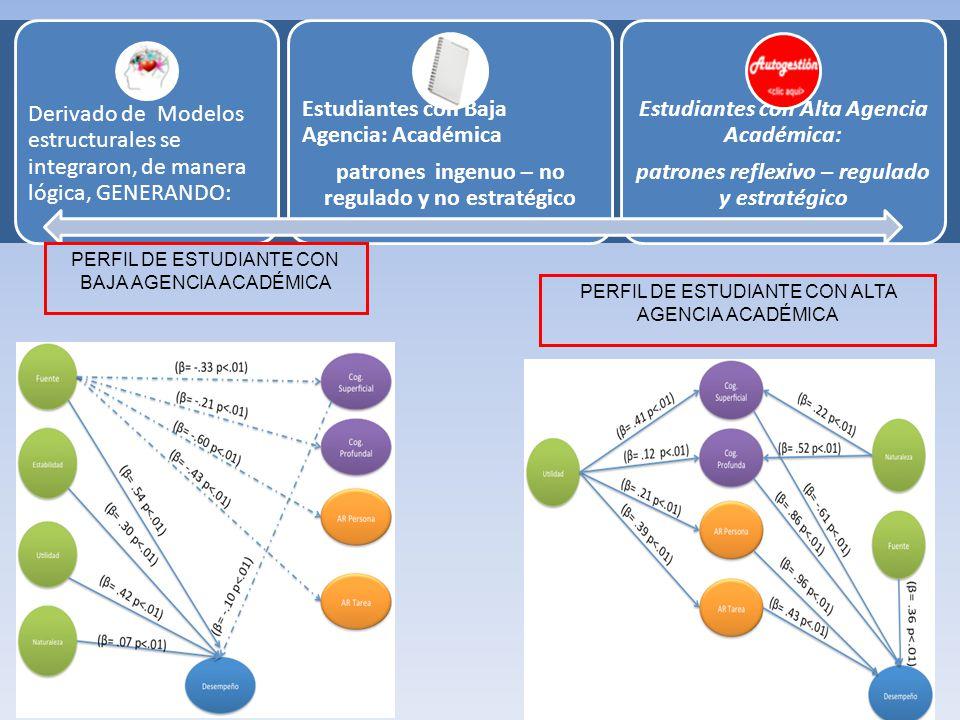 Estudiantes con Baja Agencia: Académica