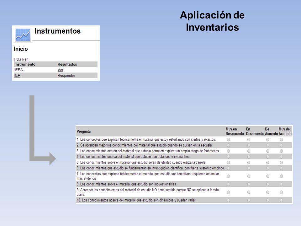Aplicación de Inventarios