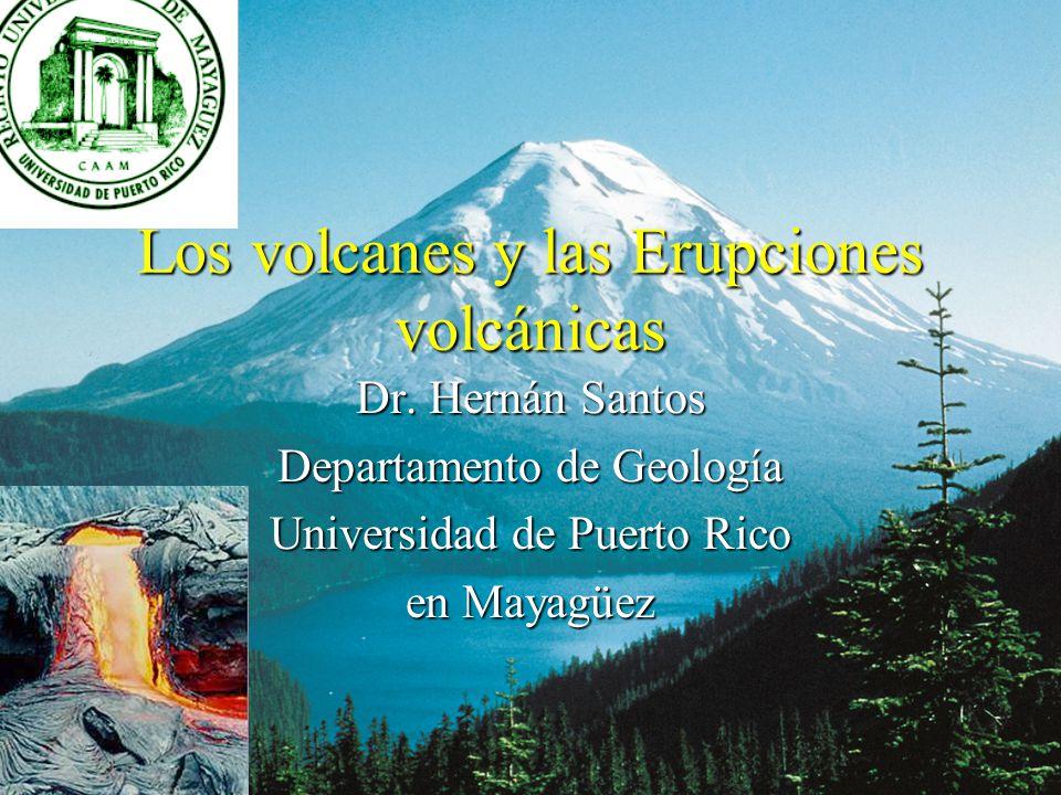 Los volcanes y las Erupciones volcánicas
