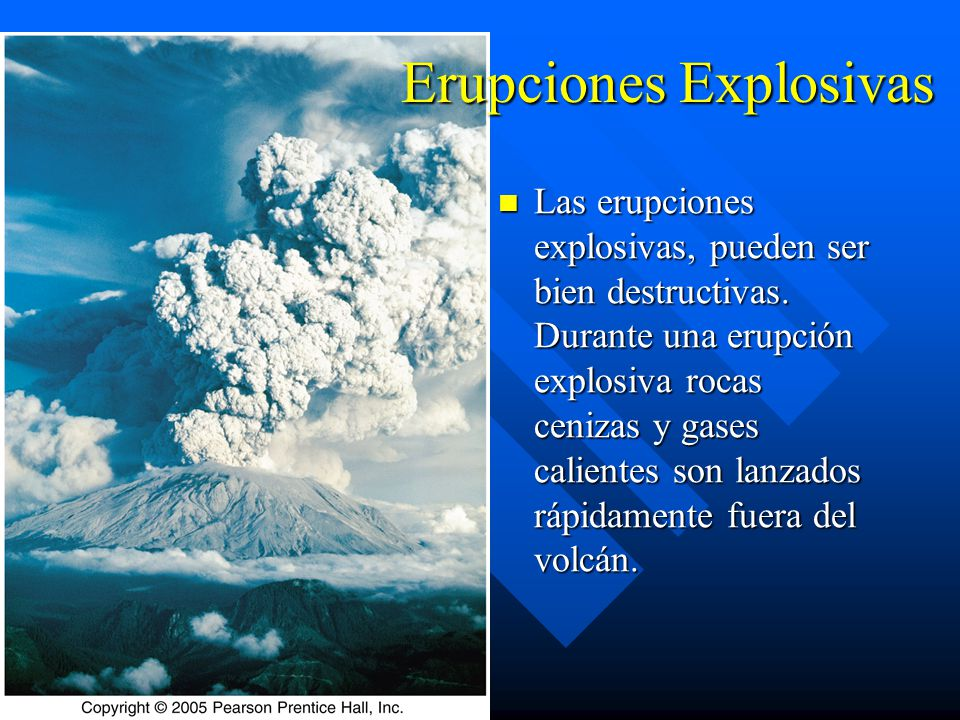 Erupciones Explosivas