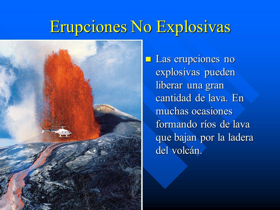 Erupciones No Explosivas