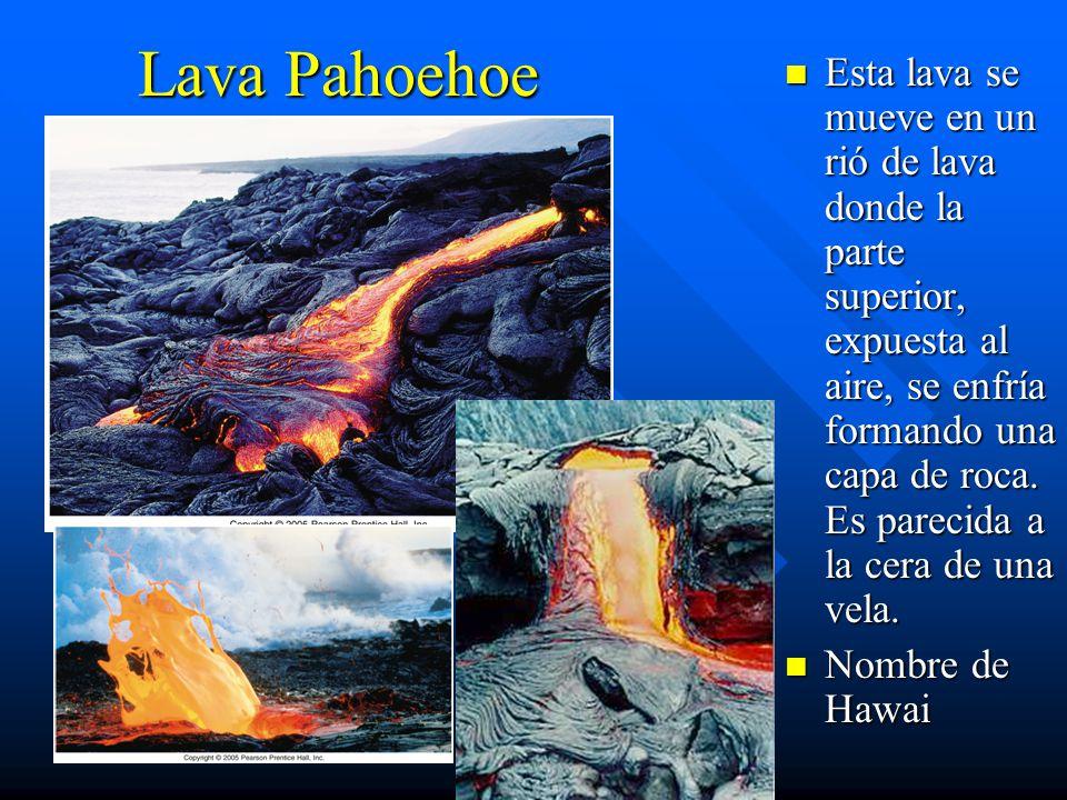 Lava Pahoehoe