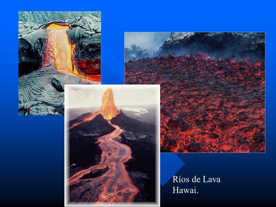 Ríos de Lava Hawai.