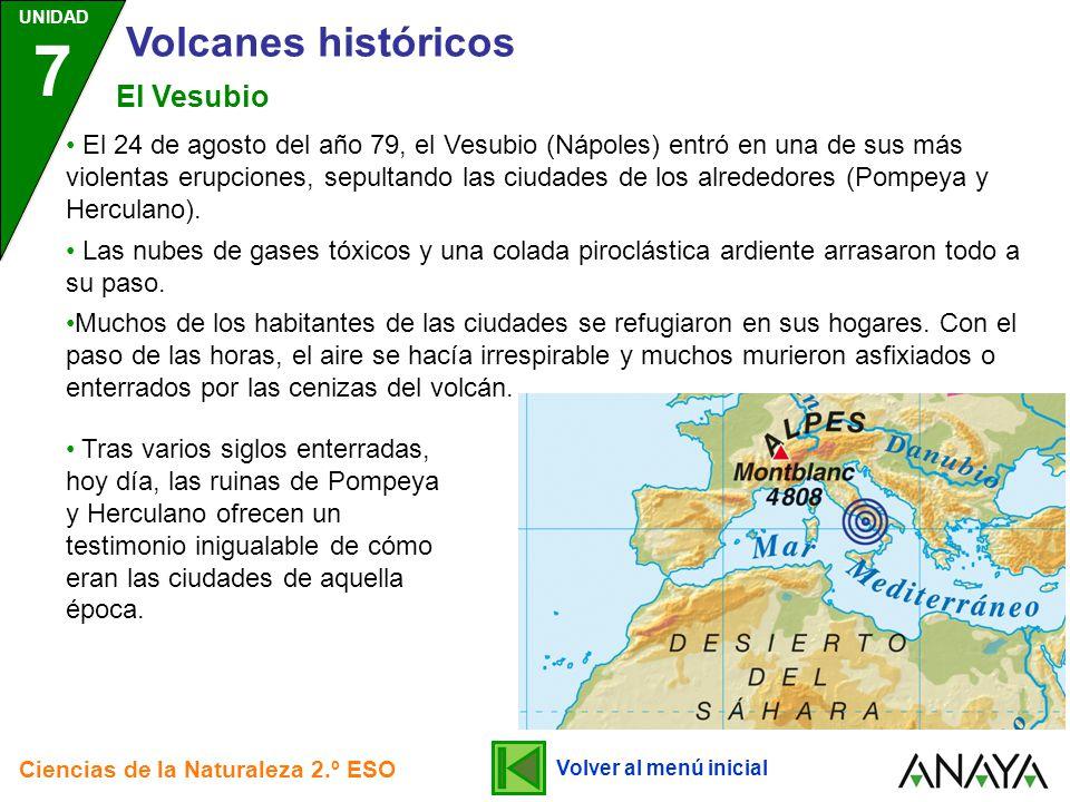 Volcanes históricos El Vesubio