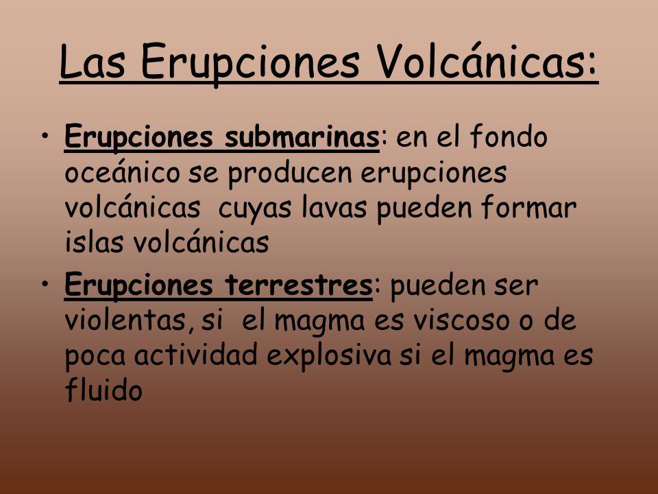 Las Erupciones Volcánicas: