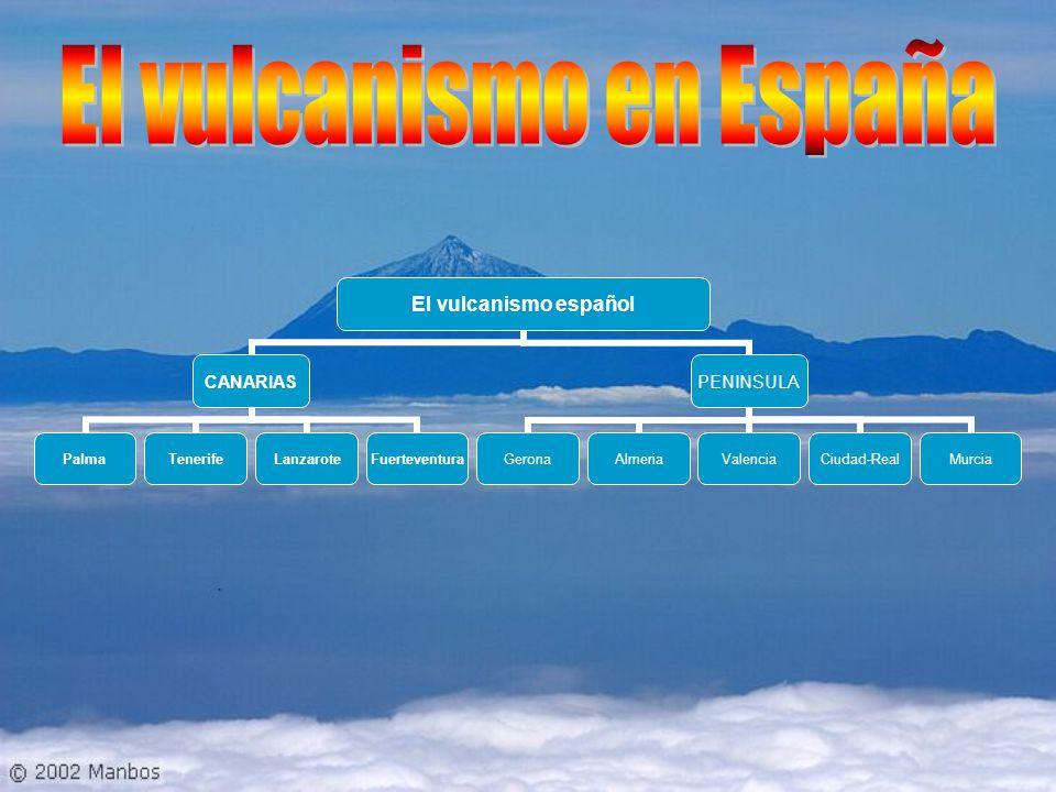 El vulcanismo en España