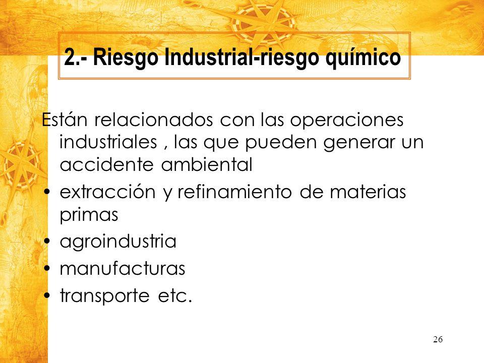 2.- Riesgo Industrial-riesgo químico