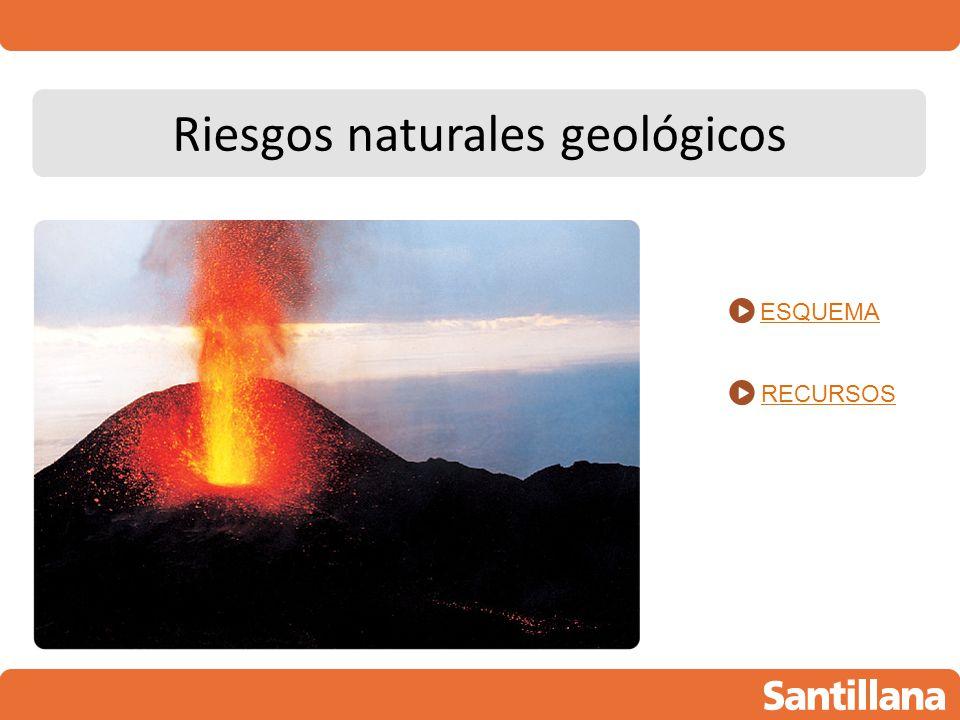 Riesgos naturales geológicos
