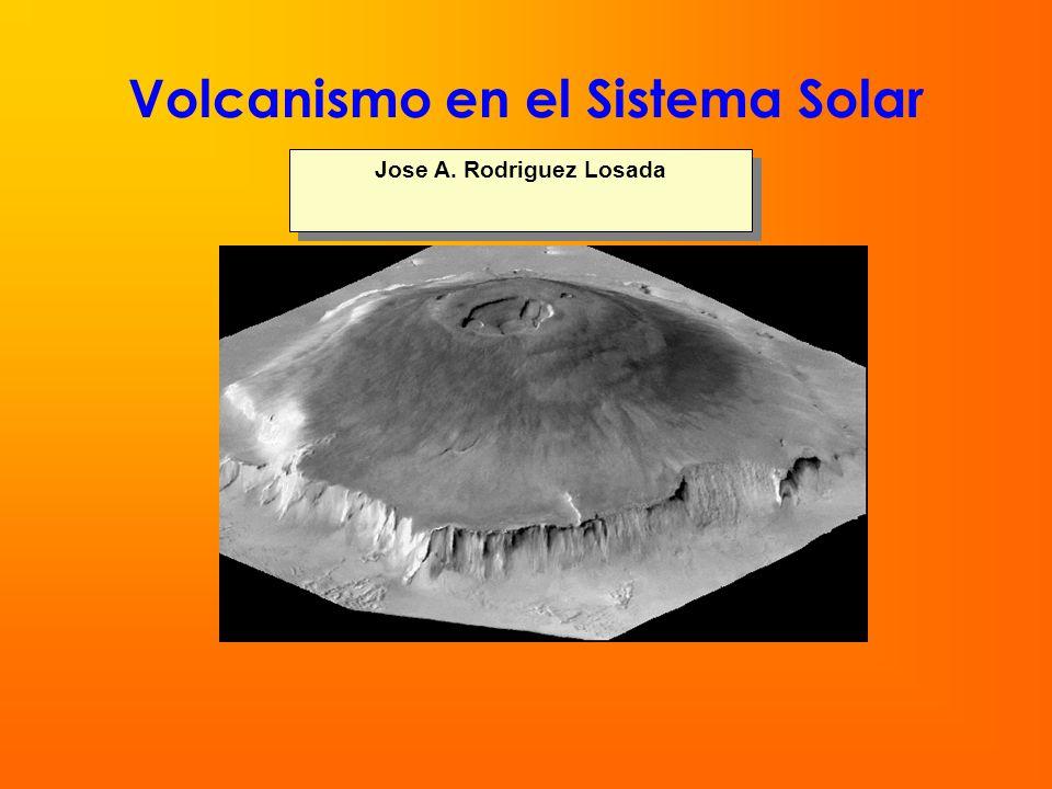 Volcanismo en el Sistema Solar