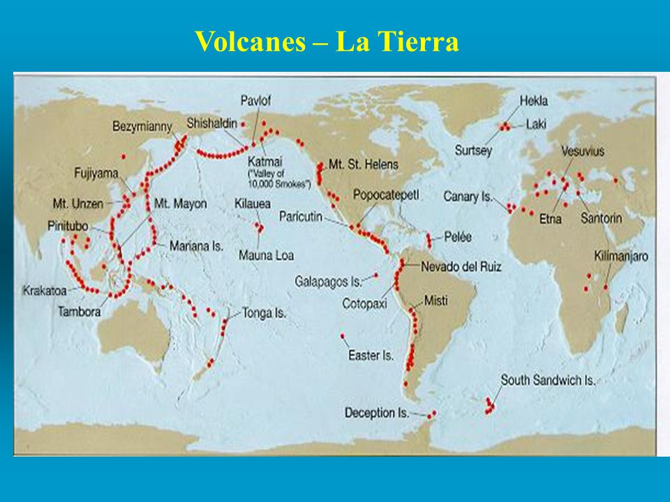Volcanes – La Tierra