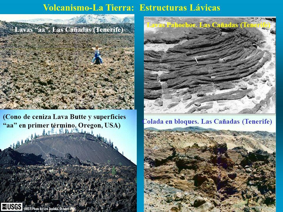 Volcanismo-La Tierra: Estructuras Lávicas