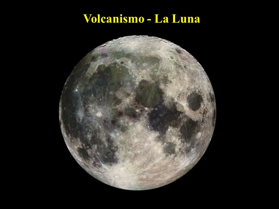 Volcanismo - La Luna