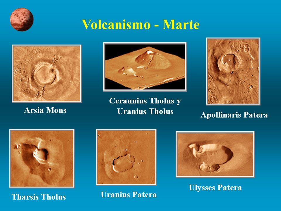 Ceraunius Tholus y Uranius Tholus