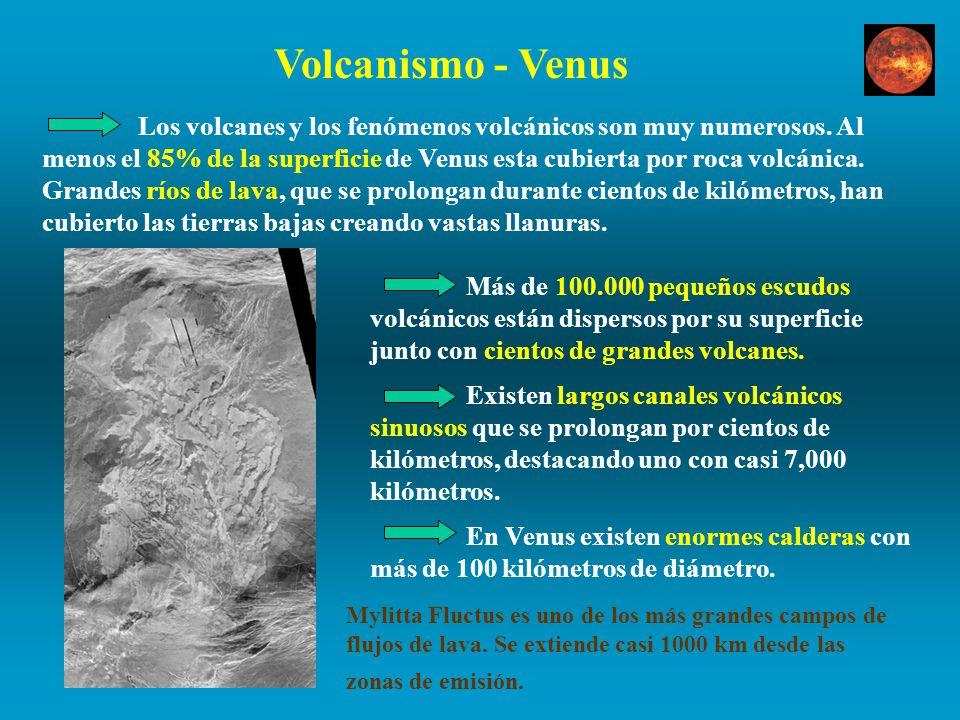 Volcanismo - Venus