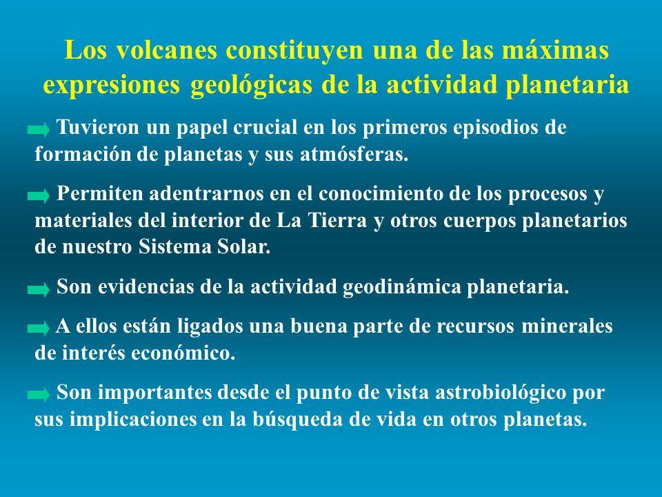 Los volcanes constituyen una de las máximas expresiones geológicas de la actividad planetaria