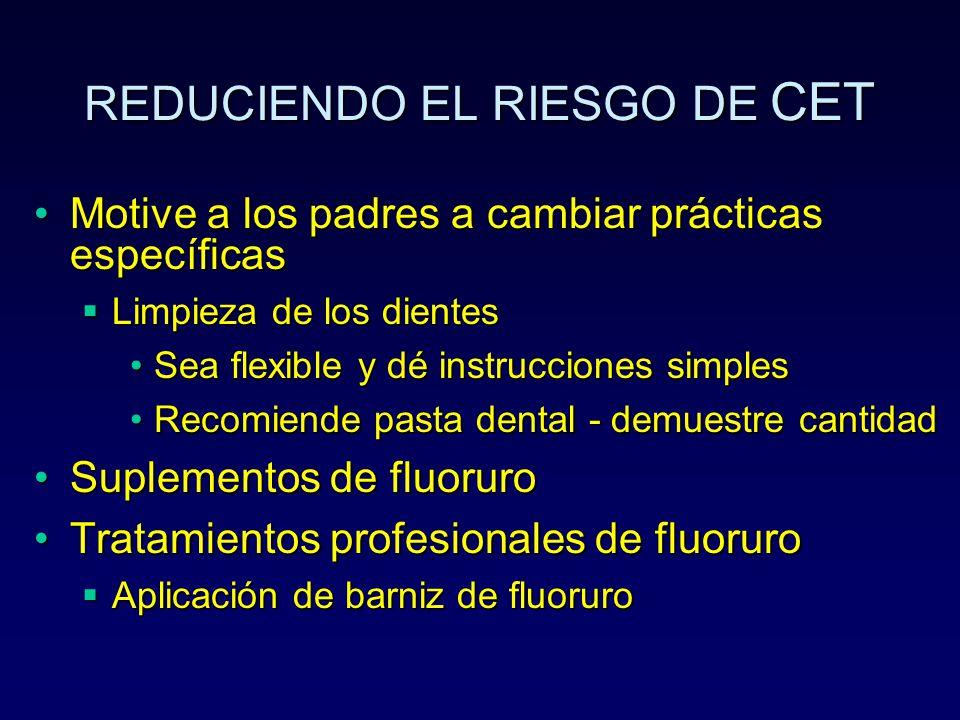 REDUCIENDO EL RIESGO DE CET
