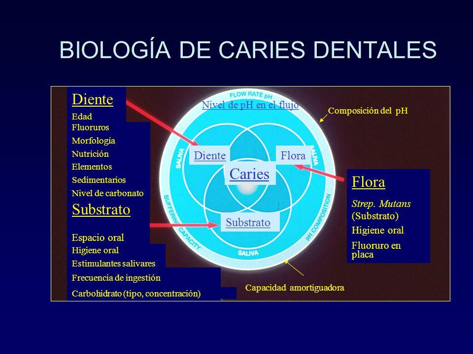 BIOLOGÍA DE CARIES DENTALES