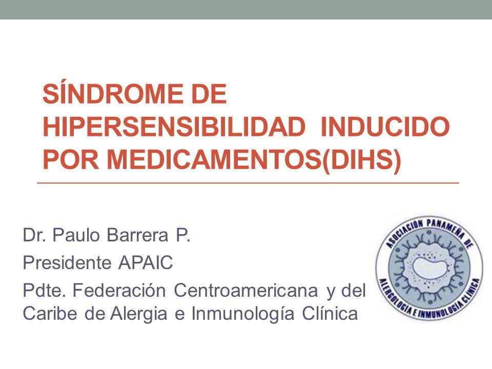 Síndrome de Hipersensibilidad inducido por medicamentos(DIHS)