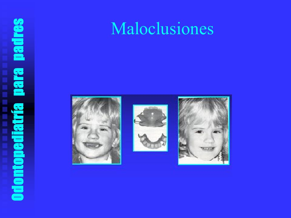 Odontopediatría para padres