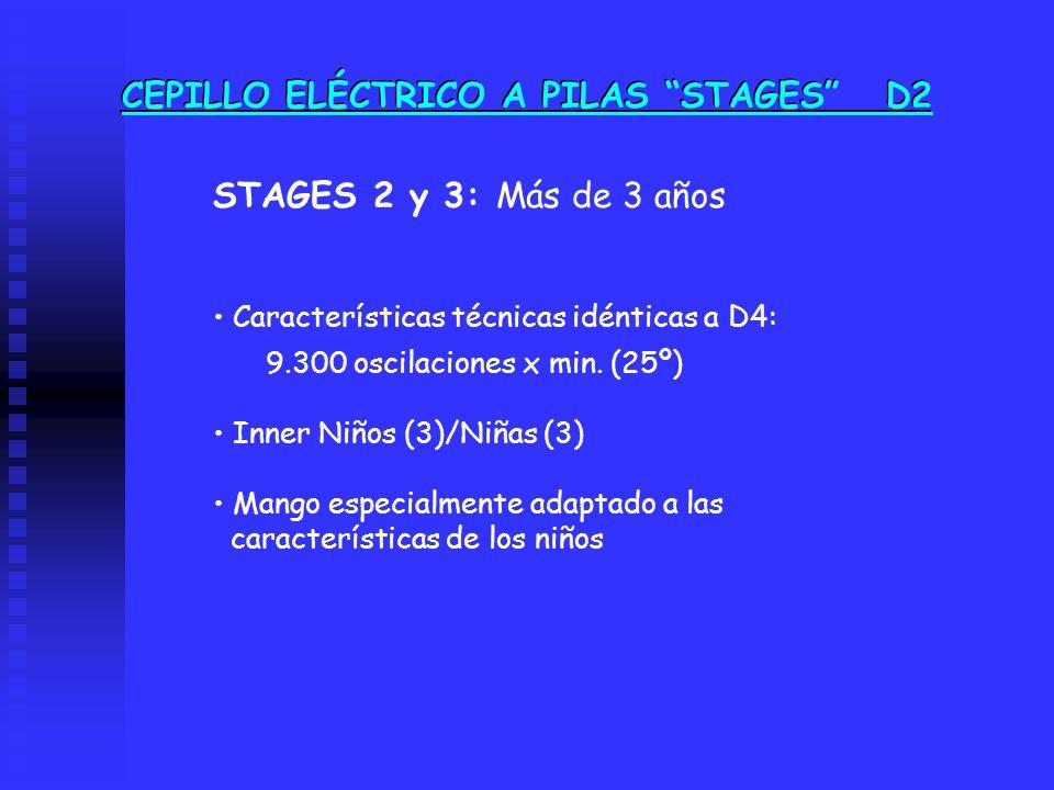 CEPILLO ELÉCTRICO A PILAS STAGES D2