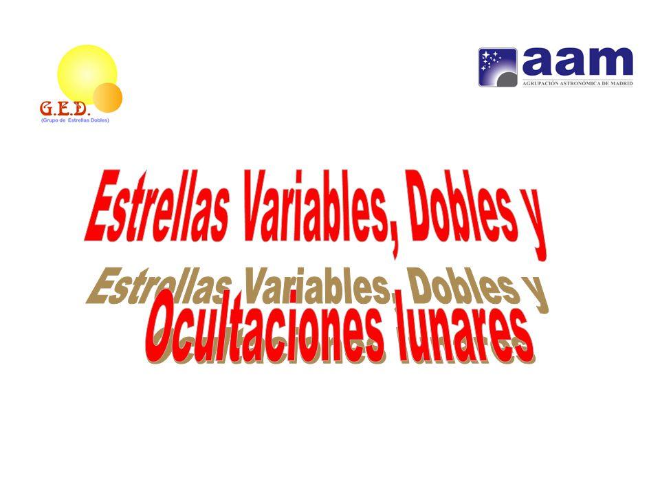 Estrellas Variables, Dobles y