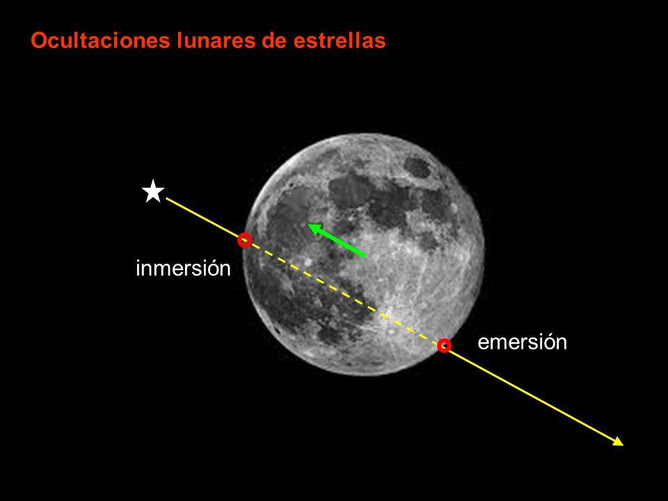Ocultaciones lunares de estrellas