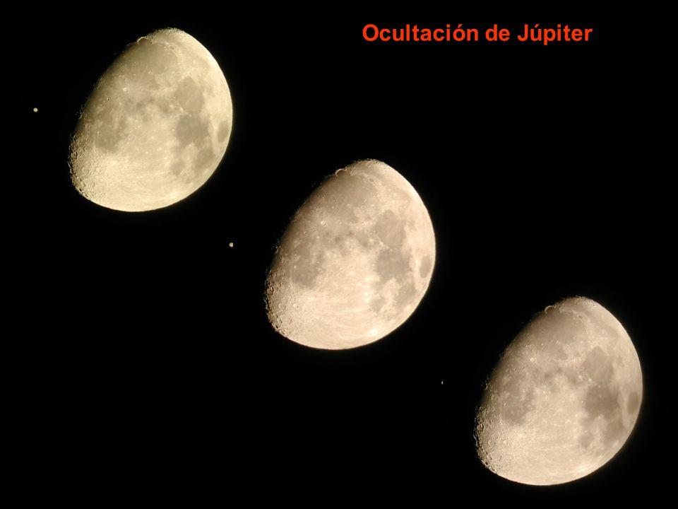 Ocultación de Júpiter