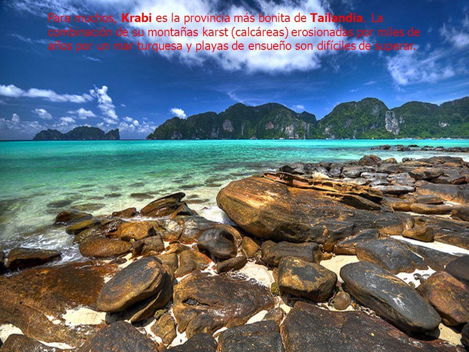 Para muchos, Krabi es la provincia más bonita de Tailandia