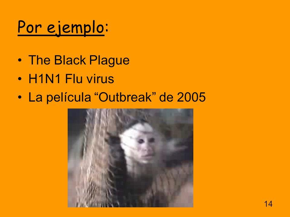 Por ejemplo: The Black Plague H1N1 Flu virus