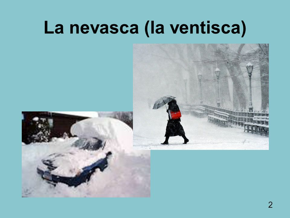 La nevasca (la ventisca)