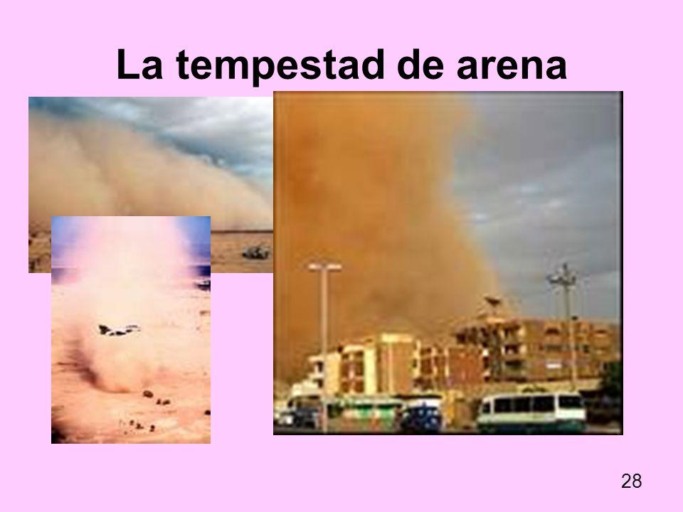La tempestad de arena