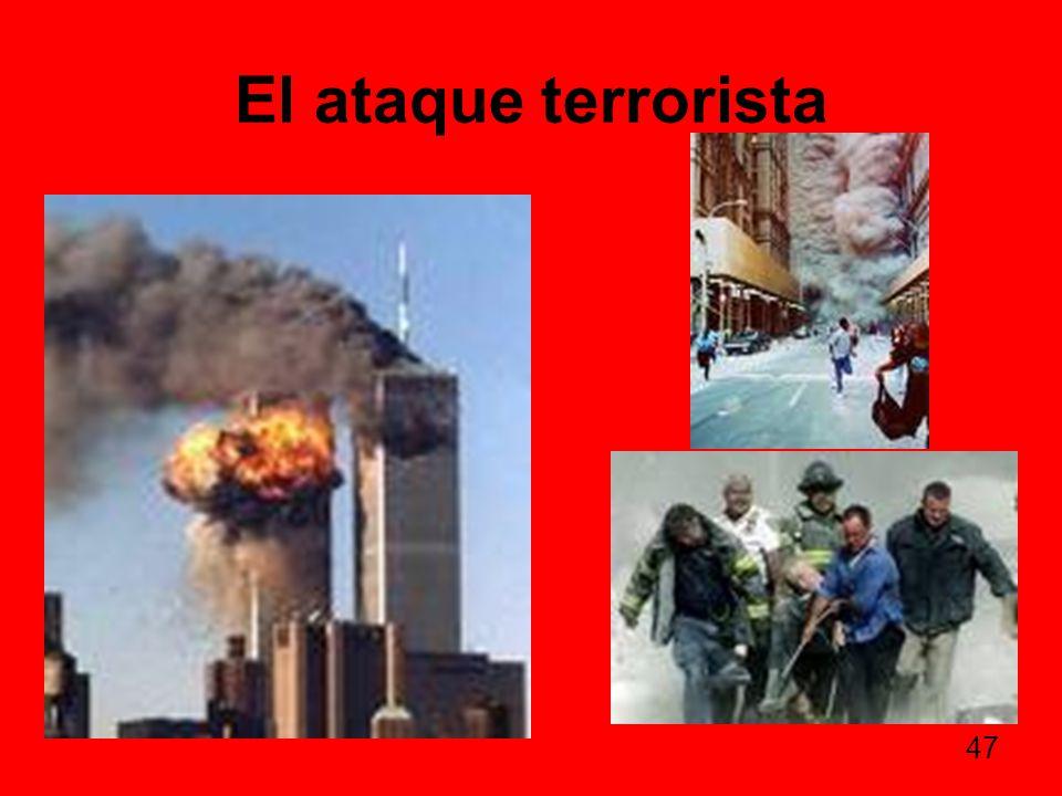 El ataque terrorista