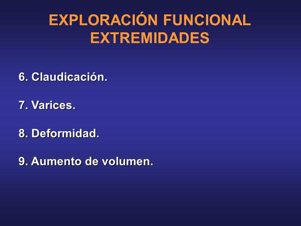 EXPLORACIÓN FUNCIONAL EXTREMIDADES