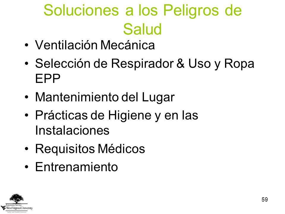 Soluciones a los Peligros de Salud
