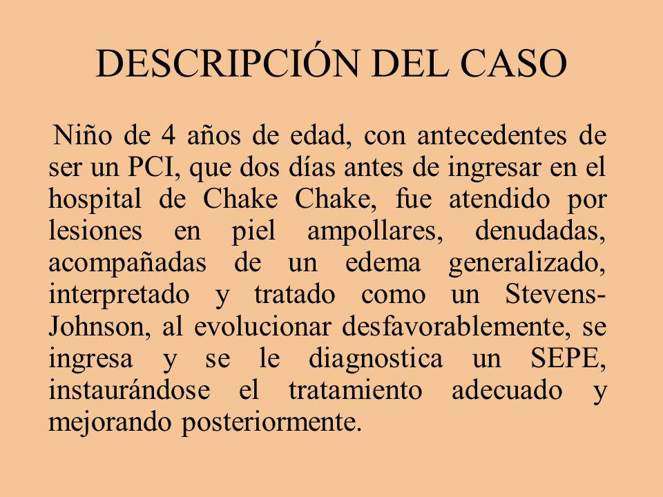 DESCRIPCIÓN DEL CASO