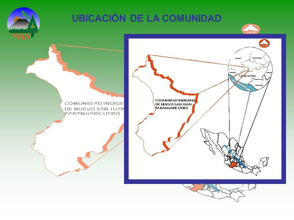 UBICACIÓN DE LA COMUNIDAD