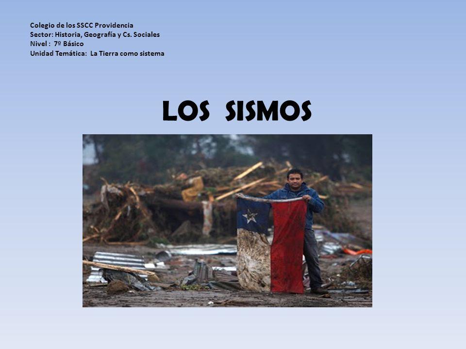 LOS SISMOS Colegio de los SSCC Providencia