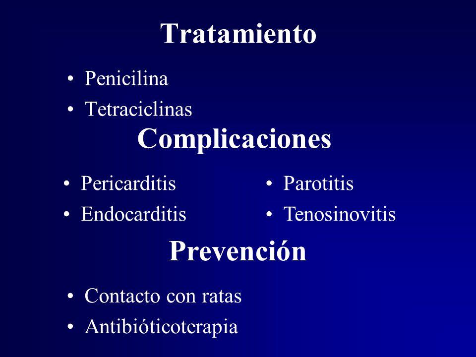 Tratamiento Complicaciones Prevención