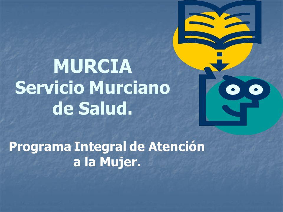 MURCIA Servicio Murciano de Salud.