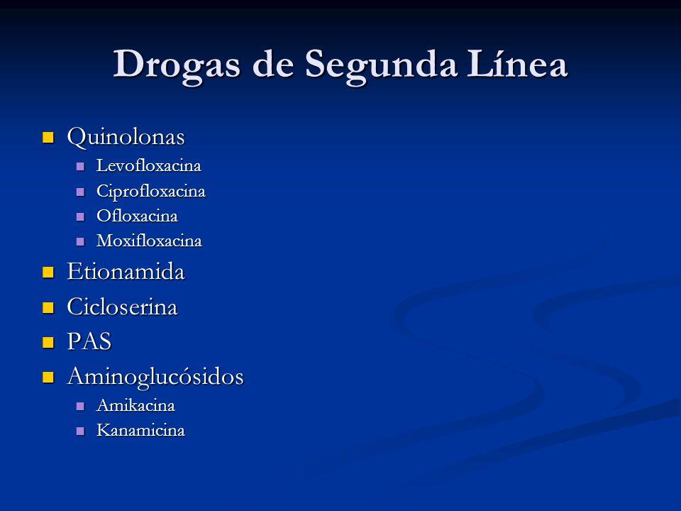 Drogas de Segunda Línea