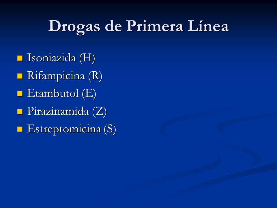 Drogas de Primera Línea