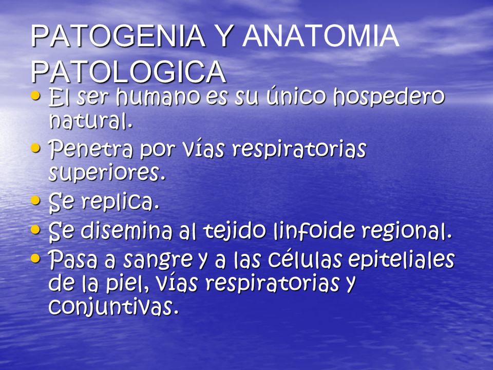 PATOGENIA Y ANATOMIA PATOLOGICA
