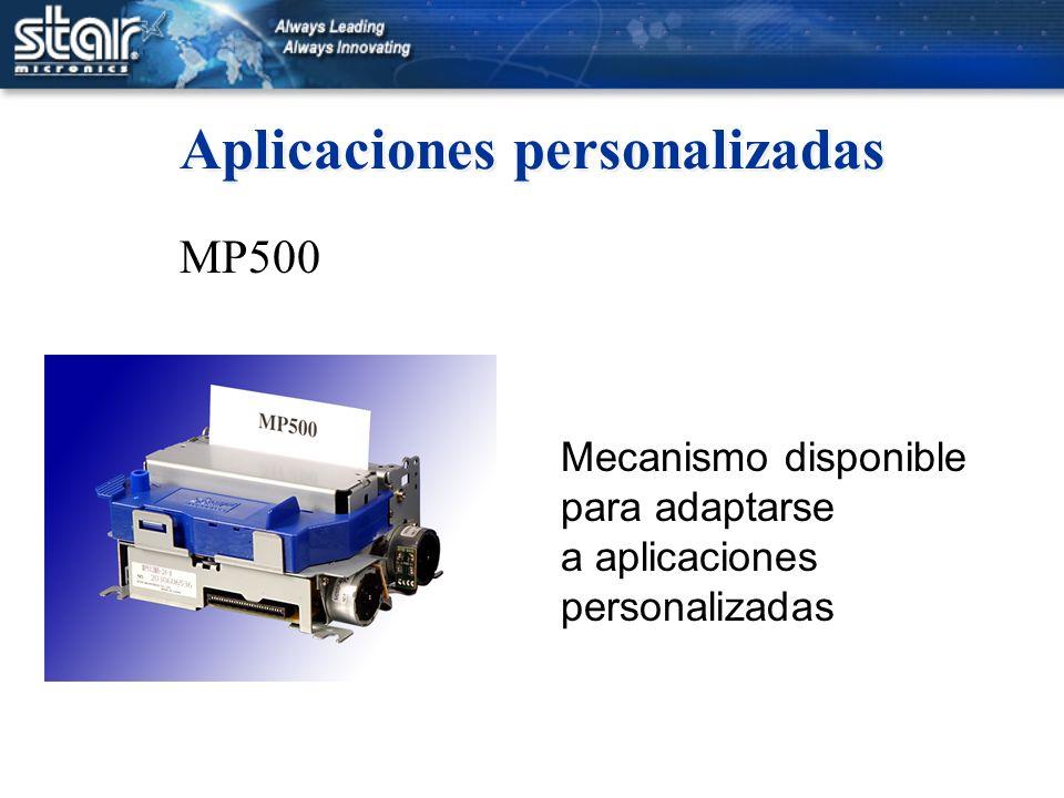 Aplicaciones personalizadas