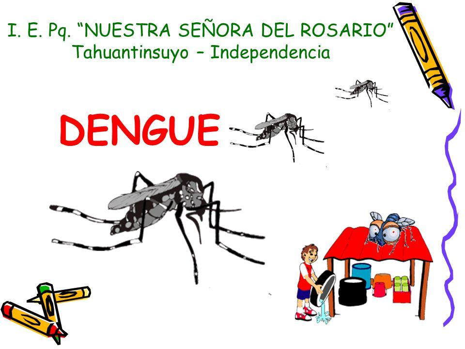 DENGUE I. E. Pq. NUESTRA SEÑORA DEL ROSARIO